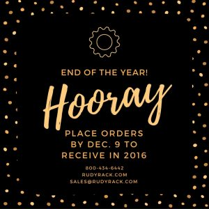 End of Year Order Placement